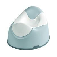 Olita ergonomica Beaba, plastic, sistem antialunecare, Verde/Alb