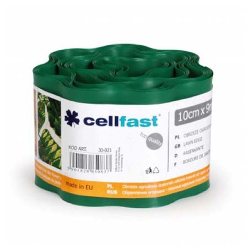 Ondulin elastic de separare Cellfast, 10 cm x 9 m, impermeabil, Verde shopu.ro