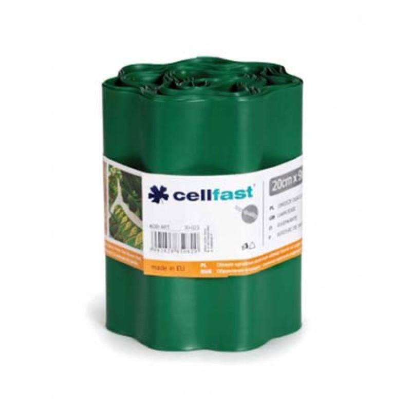 Ondulin elastic de separare Cellfast, 20 cm x 9 m, impermeabil, Verde shopu.ro