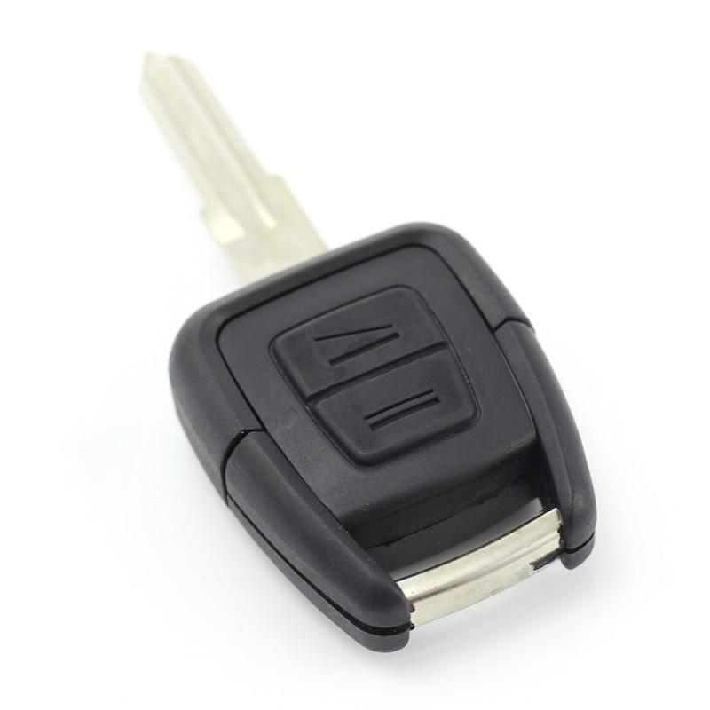 Carcasa cheie Opel Carguard, 2 butoane, lama pe stanga, model 2, Negru 2021 shopu.ro