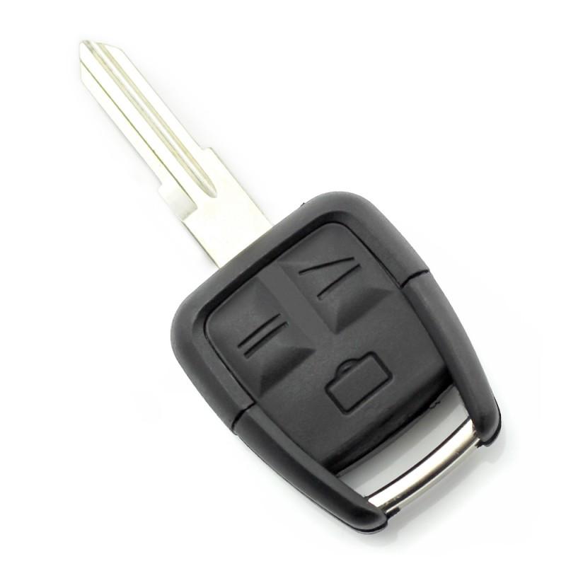 Carcasa cheie Opel Carguard, 3 butoane, lama pe dreapta, Negru 2021 shopu.ro