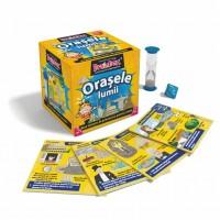 Joc educativ Orasele lumii BrainBox, maxim 6 jucatori, 8 ani+
