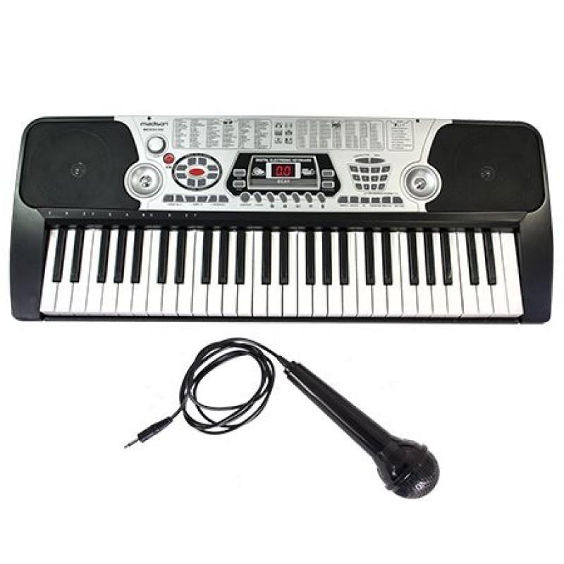 Orga electrica, 54 clape, USB si microfon inclus 2021 shopu.ro