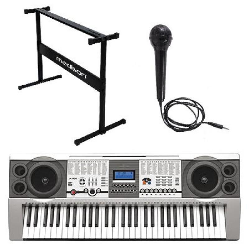 Orga electrica, 61 clape, stand si microfon incluse 2021 shopu.ro