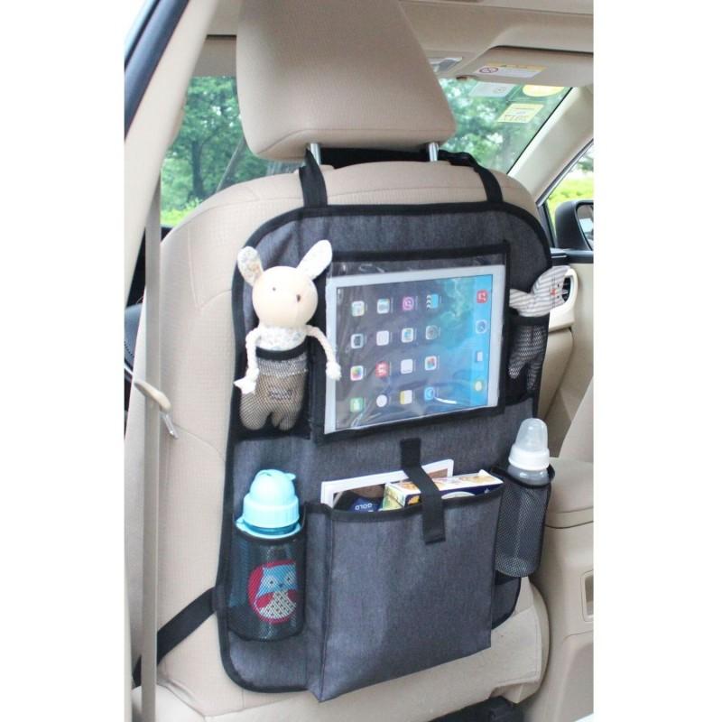 Organizator auto cu suport pentru tableta Altabebe, 6 buzunare 2021 shopu.ro