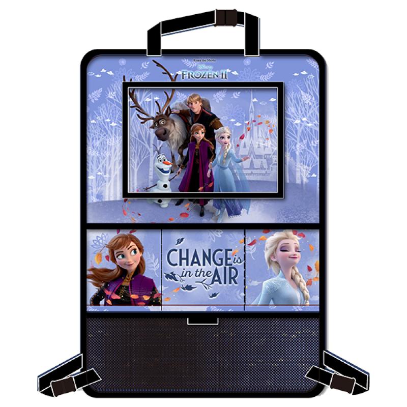 Organizator auto cu suport tableta Frozen Disney, 9.7 inch, Albastru 2021 shopu.ro