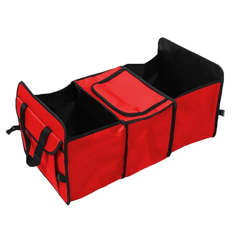 Organizator pliabil pentru portbagaj RoGroup, 60 x 20 x 30 cm, compartiment termoizolant 2021 shopu.ro