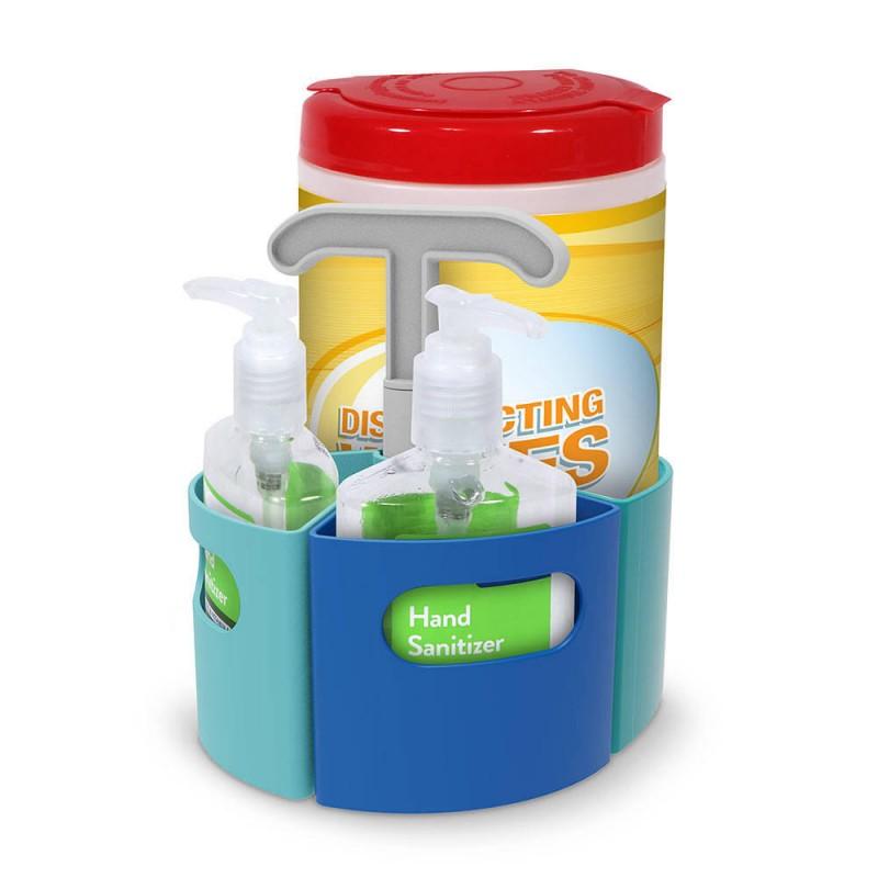 Organizator sanitar Learning Resources, plastic, 4 piese, Multicolor