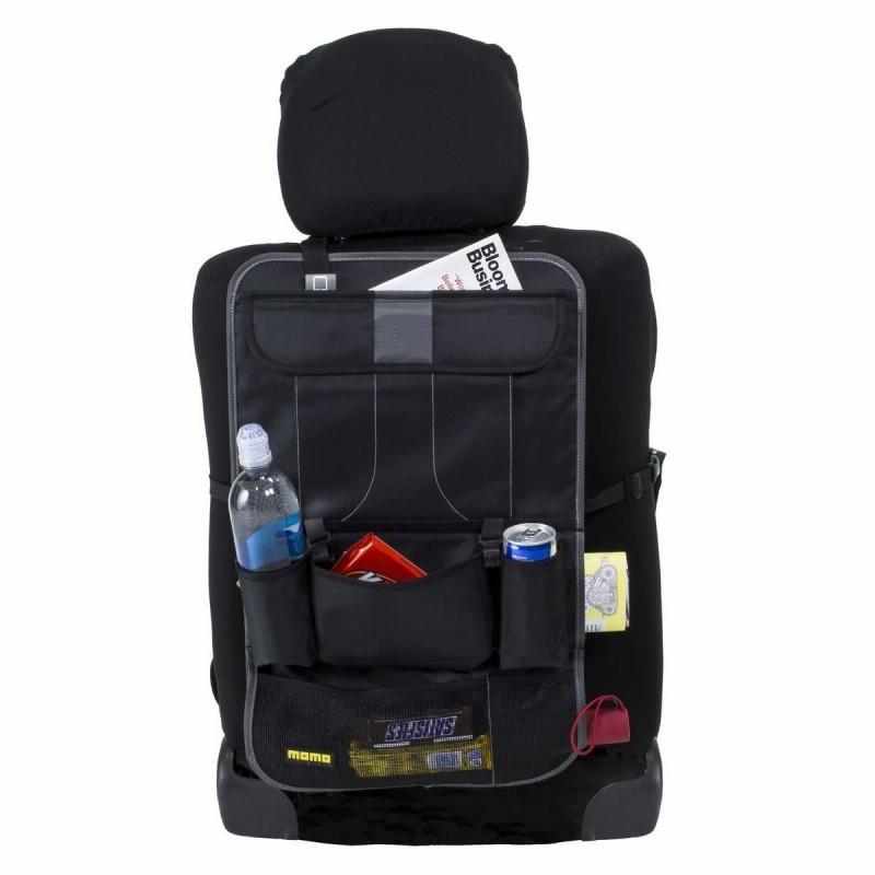 Organizator Momo pentru scaun auto, multifunctional, negru 2021 shopu.ro