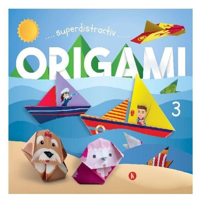 Carte pentru copii Origami 3 Editura Kreativ, 16 pagini, 3-10 ani 2021 shopu.ro