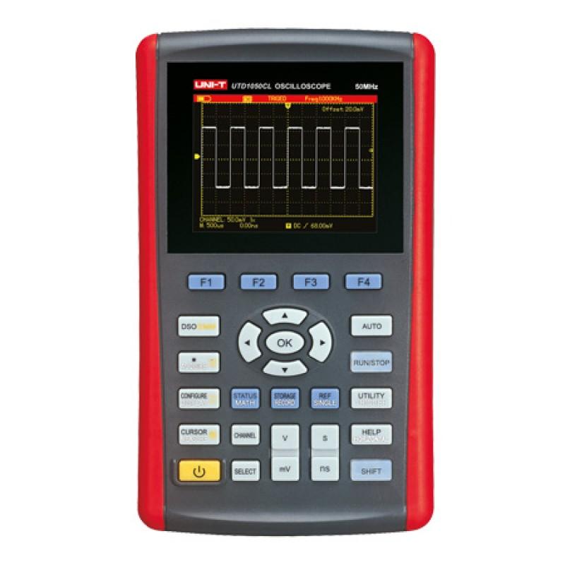 Osciloscop 50 MHz UTD1050CL UNI-T, 1 canal, mini USB, ecran LCD 2021 shopu.ro