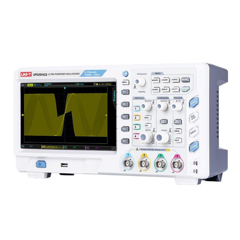 Osciloscop UPO2074CS U, display ultra phosphor, 4 canale, USB 2021 shopu.ro