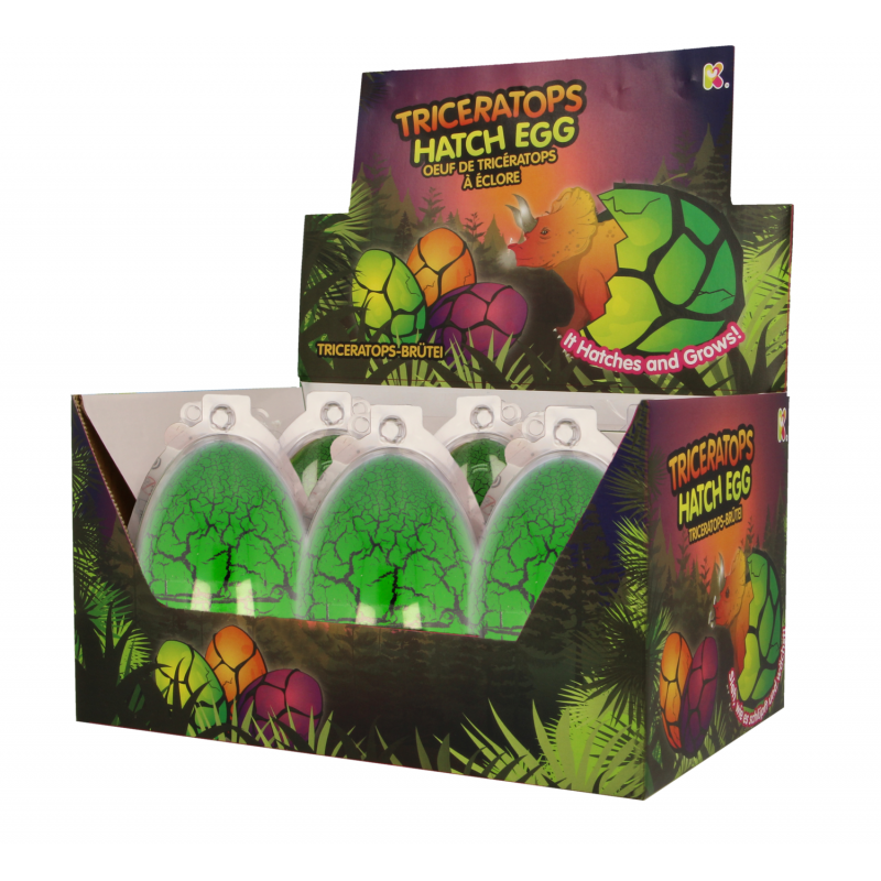 Ou Triceratops Keycraft, 10 cm, 3 ani+ imagine