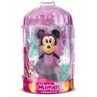 Set Fashion figurina Minnie cu accesorii, 25.6 cm, 3 ani+