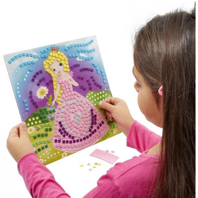 Pachet Kit Mozaic  3 in 1 Brainstorm Toys, 25 x 25 cm, 5 ani+, Multicolor