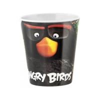 Pahar melamina Angry Birds Lulabi, 190 ml, 6 luni+