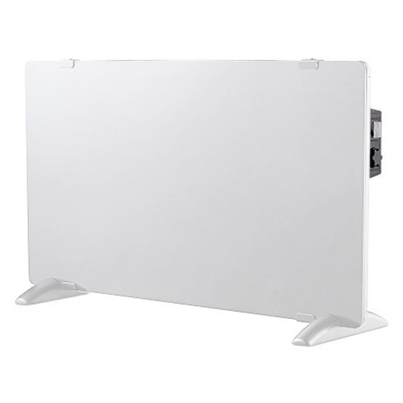 Panou sticla pentru incalzire V-Tac, 1000/2000 W, termostat, Alb 2021 shopu.ro