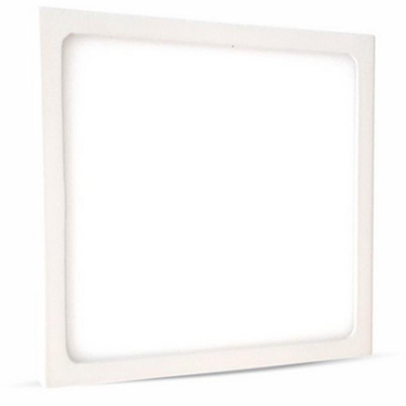 Panou LED aplicabil, 128 W, 4500 K, lumina alb neutru, model patrat