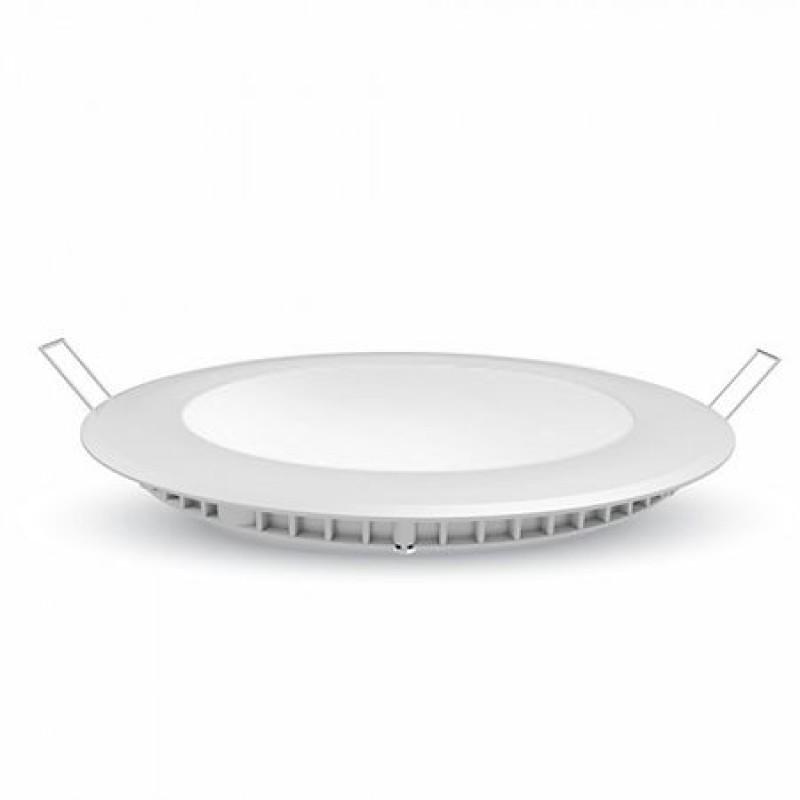 Panou LED incorporabil, 6 W, 6400 K, model rotund, cip samsung 2021 shopu.ro