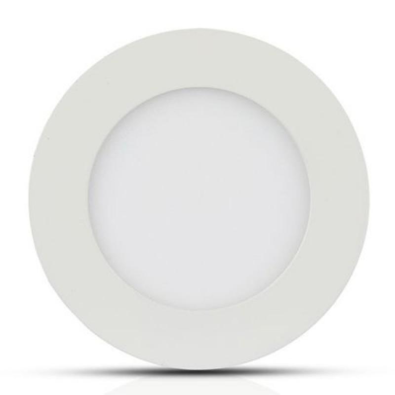 Panou LED rotund incorporabil, 18 W, 1500 lm, 4000 K, lumina alb neutru, Alb shopu.ro