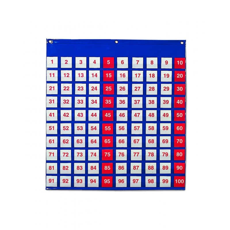 Panoul numerelor Learning Resources, 120 carduri cu numere, 66 x 70 cm 2021 shopu.ro