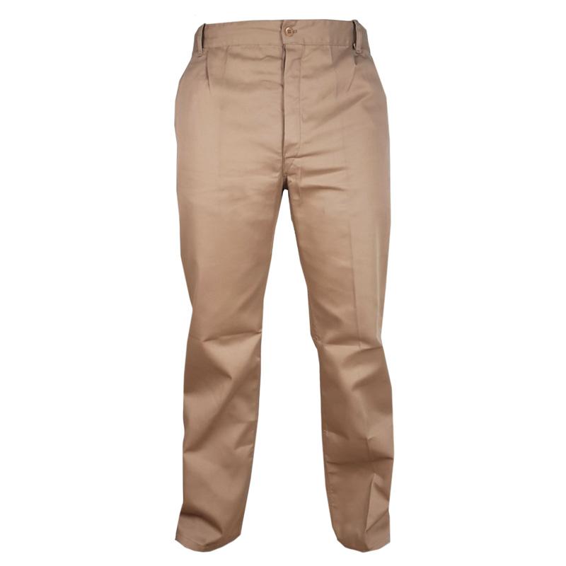 Pantaloni Stock, marimea 52-54, bej 2021 shopu.ro