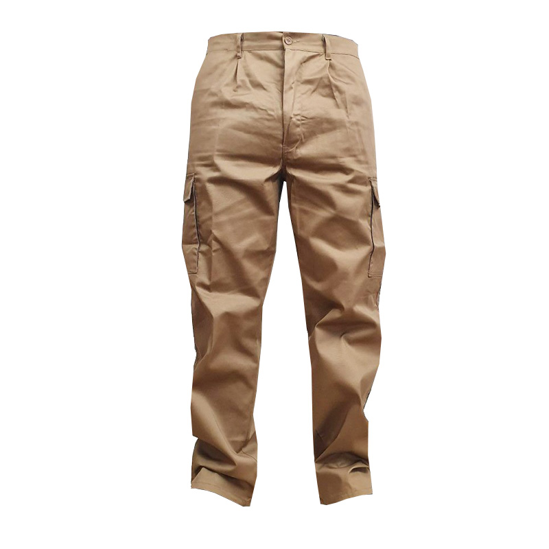 Pantaloni Stock, marimea 62, bej 2021 shopu.ro