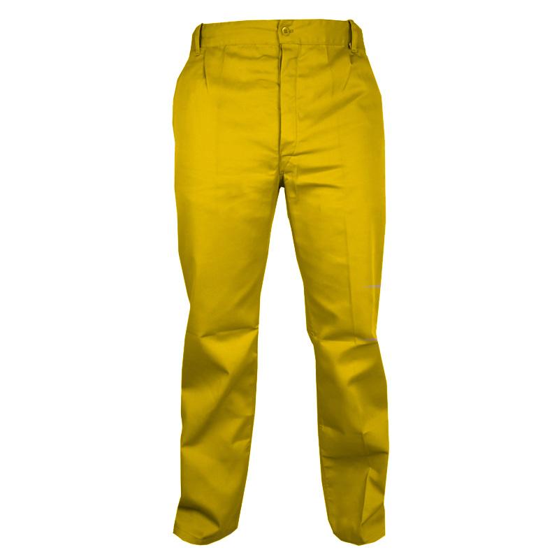 Pantaloni Stock, marimea 50, galben shopu.ro