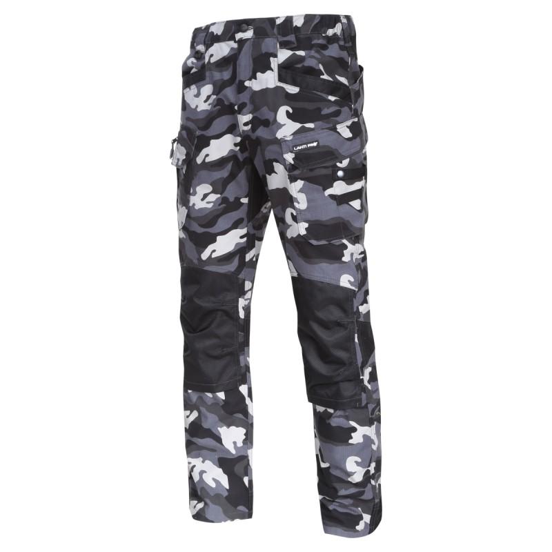 Pantaloni interventie intariti Lahti Pro, marimea XL, 12 buzunare, elemente reflectorizante