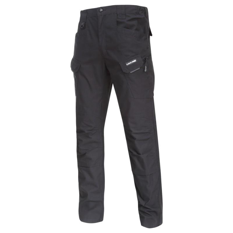 Pantaloni interventie Lahti Pro, marimea S, 8 buzunare, elemente reflectorizante, Negru