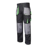 Pantaloni lucru grosi, 100% bumbac, 9 buzunare, cusaturi triple, talie ajustabila, marime M/50