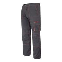 Pantaloni lucru mediu-grosi, 5 buzunare, cusaturi duble, talie ajustabila, marime M/H-176