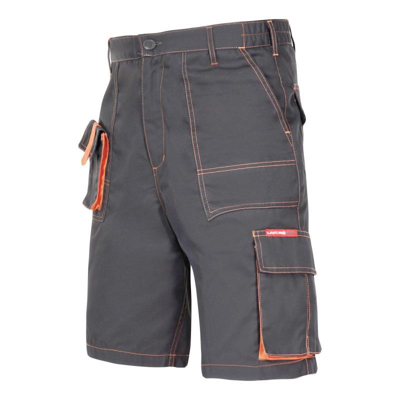 Pantaloni lucru scurt mediu-gros, 7 buzunare, talie ajustabila cu elastic, cusaturi duble, marime S shopu.ro