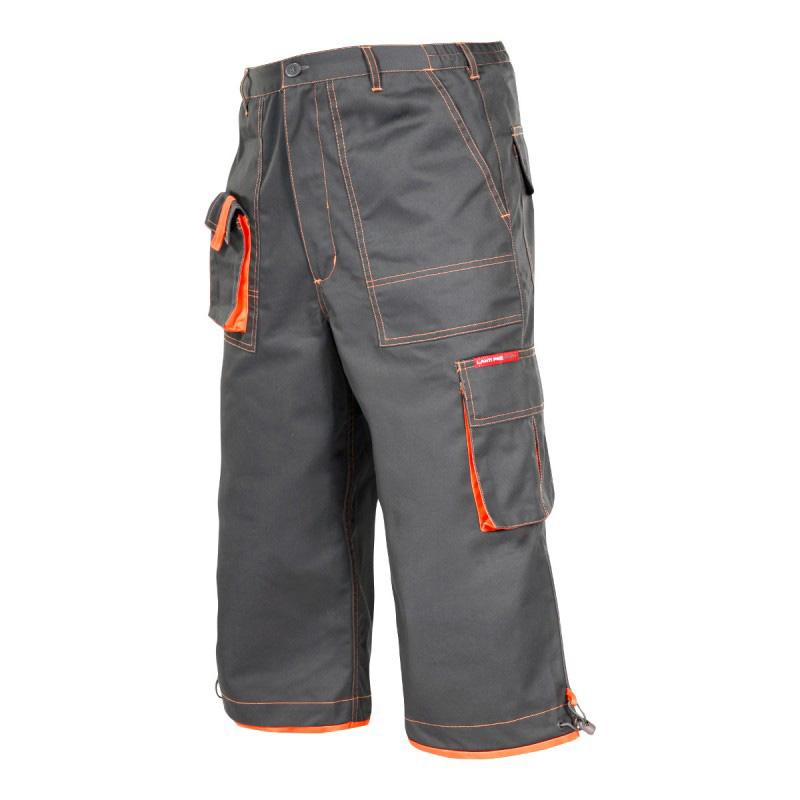Pantaloni lucru mediu-grosi, cusaturi duble, 7 buzunare, talie ajustabila, marime M shopu.ro