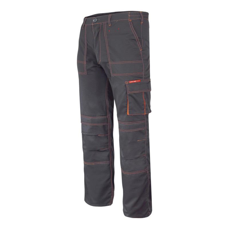 Pantaloni lucru mediu-grosi, 5 buzunare, cusaturi duble, talie ajustabila, marime XL/H-182 shopu.ro