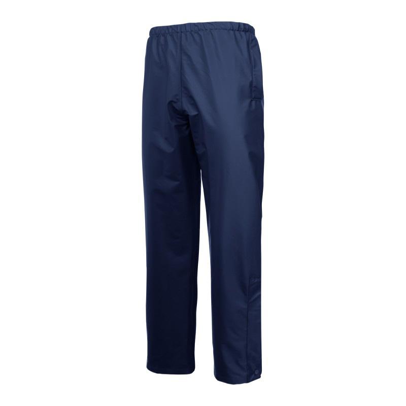 Pantaloni ploaie, 2 buzunare, impermeabil, talie si mansete ajustabile, marime L, Albastru 2021 shopu.ro