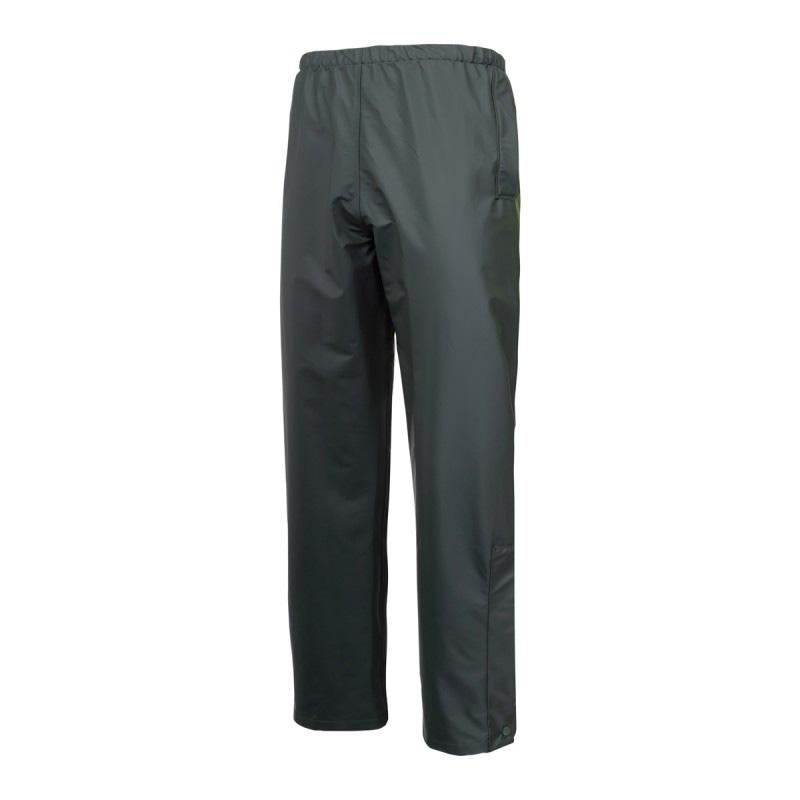 Pantaloni ploaie, 2 buzunare, impermeabil, talie si mansete ajustabile, marime M, Verde 2021 shopu.ro