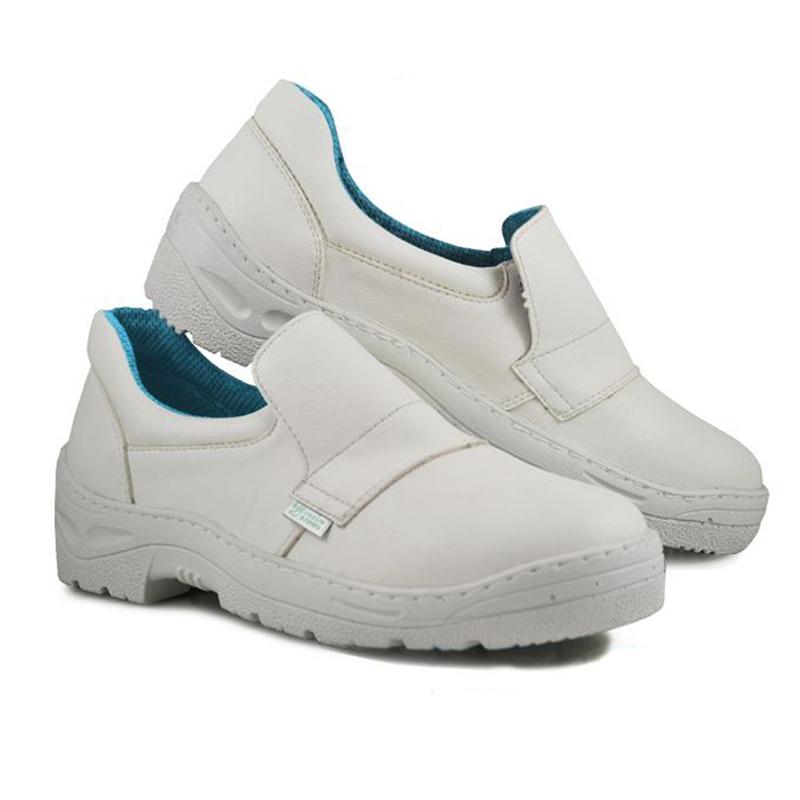Pantofi microfibra Kolmax, marimea 47, captuseala mesh, Alb 2021 shopu.ro