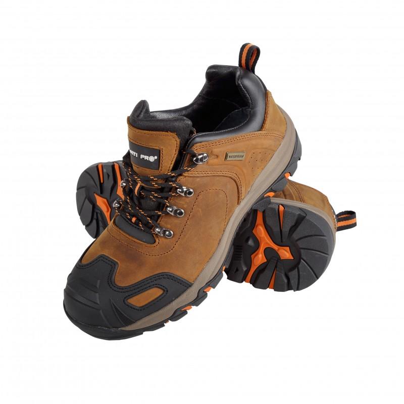 Pantofi piele intoarsa cu cauciuc Lahti Pro, maro, marimea 42 2021 shopu.ro