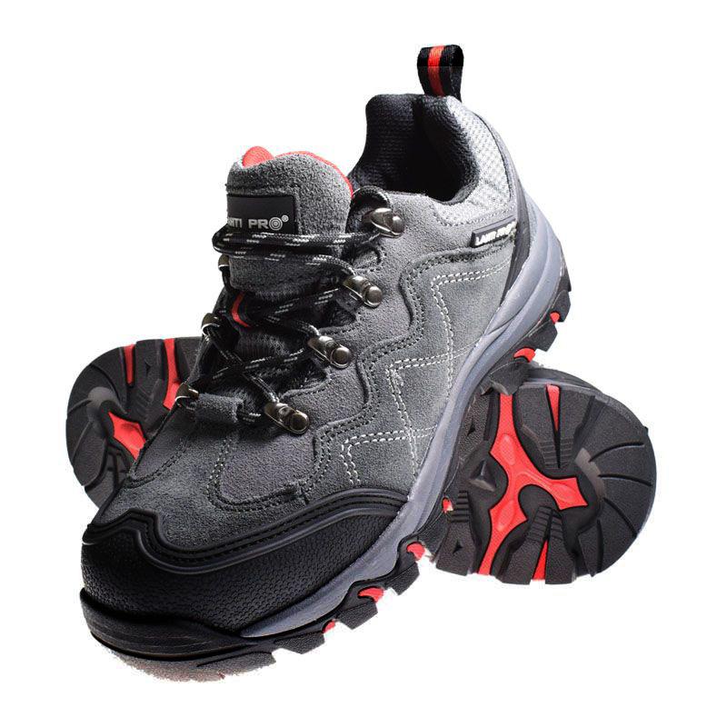 Pantofi piele intoarsa Lahti Pro, aplicatii cauciuc, marimea 39 2021 shopu.ro