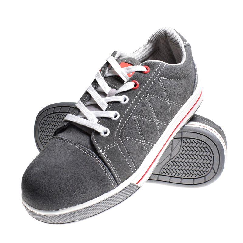 Pantofi piele intoarsa, aplicatii cauciuc, marimea 39 2021 shopu.ro