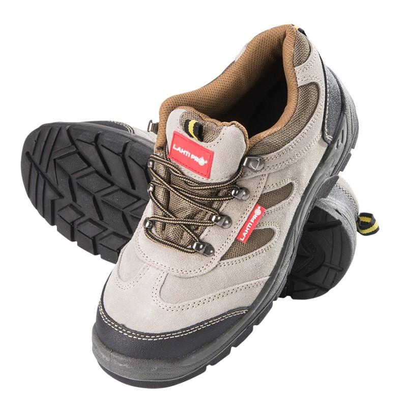 Pantofi piele intoarsa Lahti Pro, tesuti, marimea 39 2021 shopu.ro