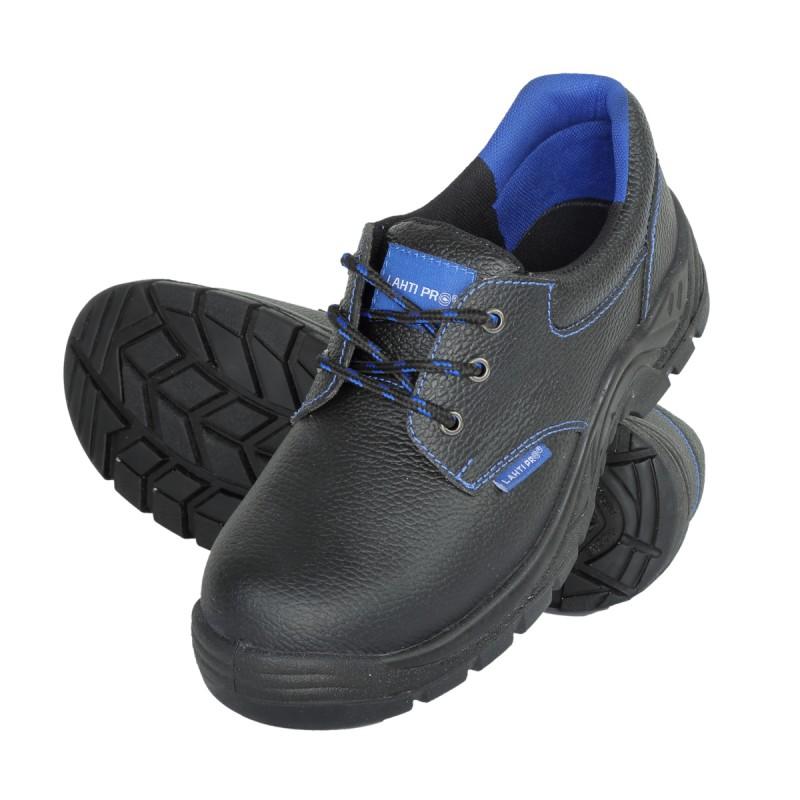 Pantofi piele Lahti Pro, brant detasabil, marimea 46