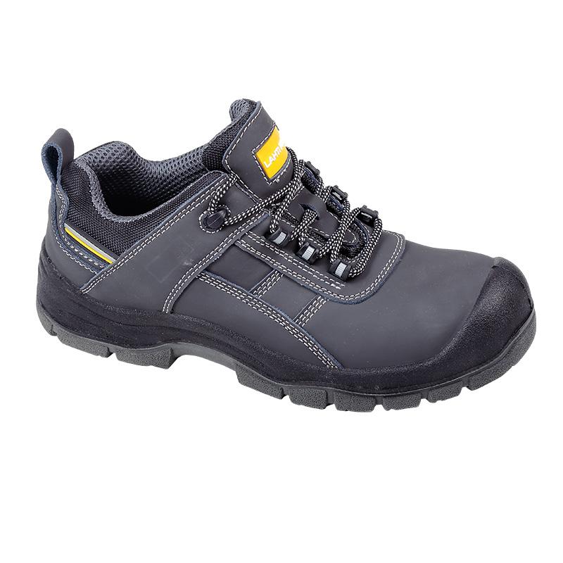Pantofi piele velur Lahti Pro, brant detasabil, marimea 42 shopu.ro