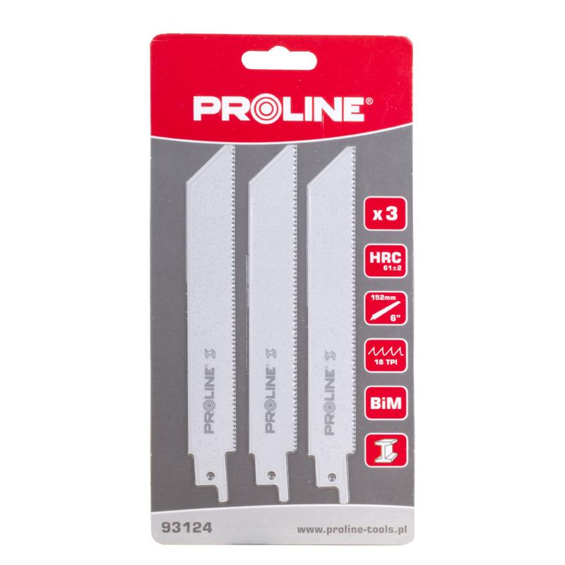 Panze fierastru electric orizontal Proline, metal, 3 buc/set
