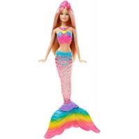 Papusa Barbie Sirena Curcubeu Mattel, 3 ani+