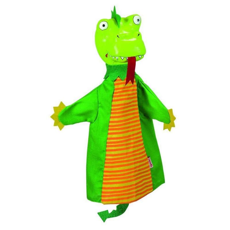 Papusa de mana Dragon Goki, 30 cm, 4 ani+