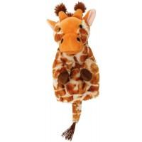 Papusa de mana Girafa Keycraft, 25 x 17 x 10 cm, plus, 3 ani+