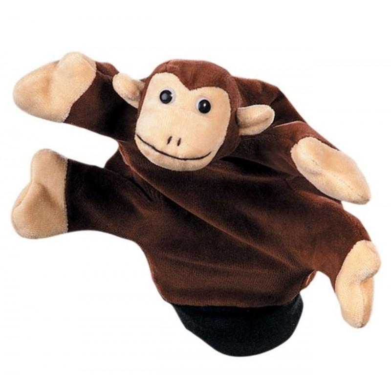 Papusa de mana Beleduc, textil, model maimuta 2021 shopu.ro