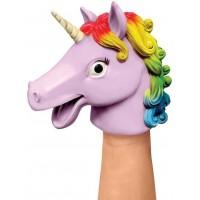Papusa de mana Unicorn Tobar, 16.5 cm, 3 ani+, Multicolor